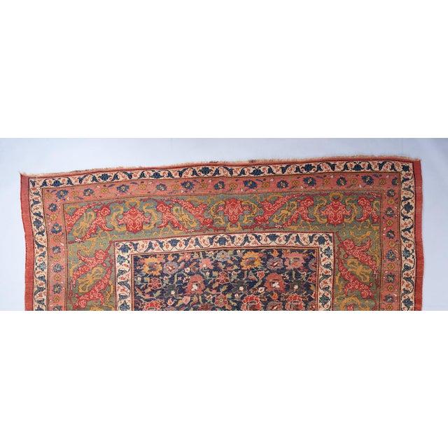Allover Design Oversized Bijar Carpet For Sale - Image 4 of 6