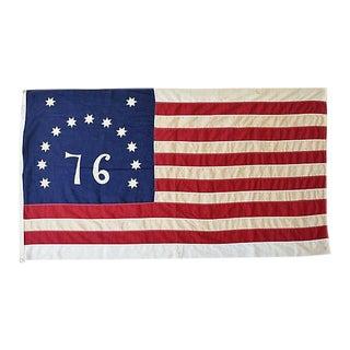 Vintage Bicentennial 76 American Flag