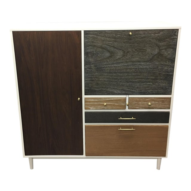 West Elm Patchwork Collection Secretary | Chairish