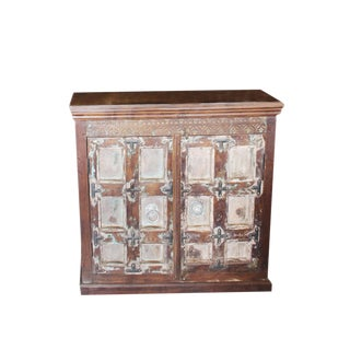 1920's Rustic Farmhouse Sideboard For Sale
