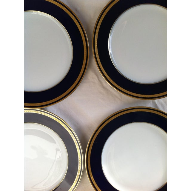 "Hutschenreuther ""Monarch"" China Plates - Set of 4 For Sale - Image 4 of 10"