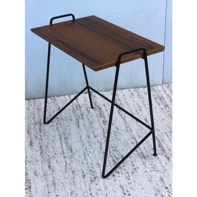 Black Tony Paul Modernist Nesting Tables For Sale - Image 8 of 11