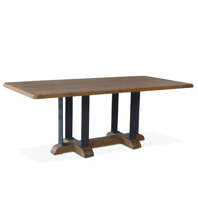 Hollywood at Home Montecito Dining Table For Sale - Image 4 of 4