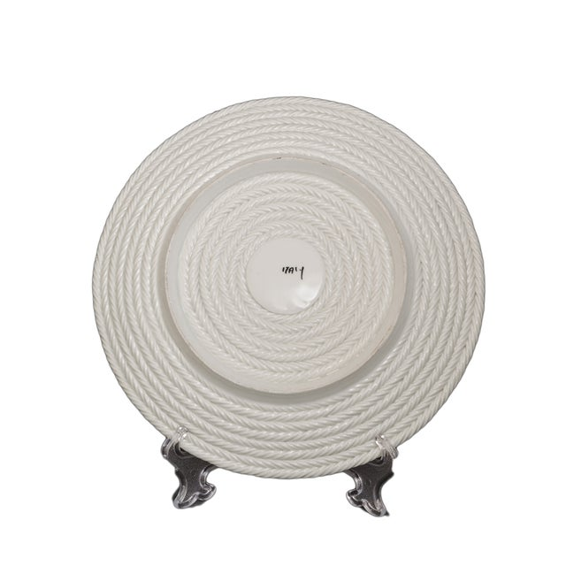 Italian Coiled-Rope Plates - Set of 6 - Image 2 of 5