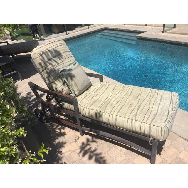 Outdoor Tommy Bahama Single Chaise - Image 7 of 8