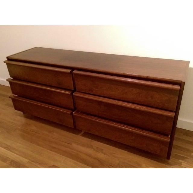 Mid-Century Modern 6-Drawer Rosewood Dresser From Belgium - Image 5 of 10