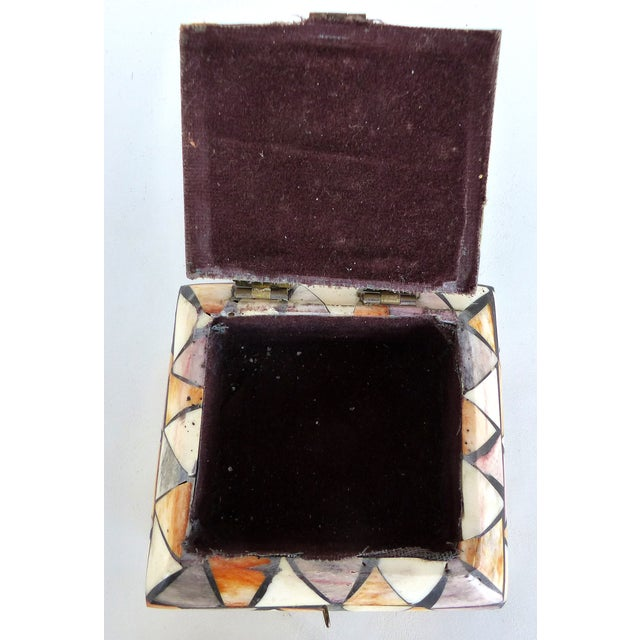 Inlaid Over-Dyed Bone Boxes - A Pair - Image 9 of 10