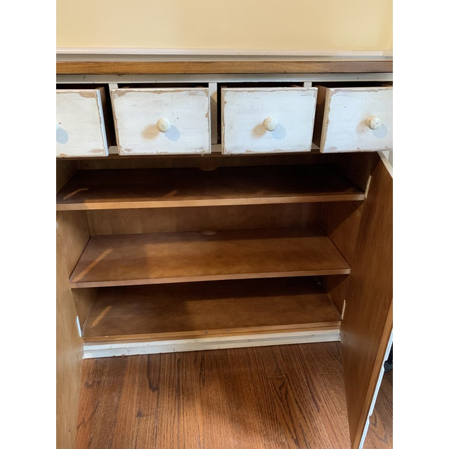 Great rustic cabinet for storage in almost any room. Excellent condition. Pottery barn
