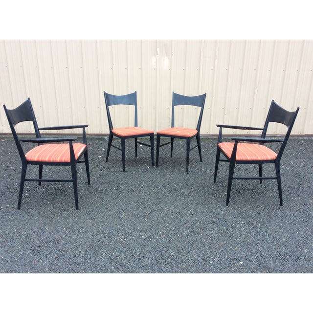 Danish Modern Paul McCobb Calvin Furniture Dining Chairs - 4 For Sale - Image 3 of 10