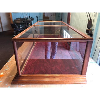 1990s Glass Countertop Store Display Showcase Preview