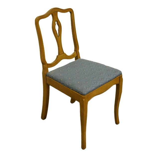 """Drexel Heritage Country French Regency Dining Side Chair 1770-5. Perfect for a cottage style kitchen. 34"""" High 16.5"""" Wide..."""