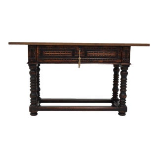 Mario Walnut Console Table