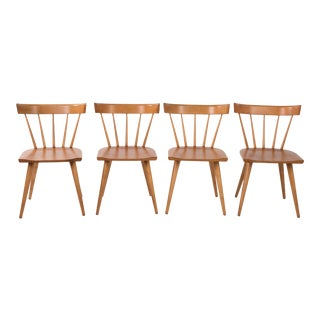 Vintage Paul McCobb Planner Group Dining Chairs- Set of 4 For Sale