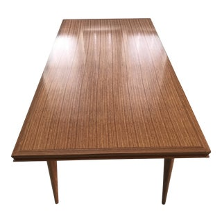 Danish Modern Extendable Dining Table For Sale