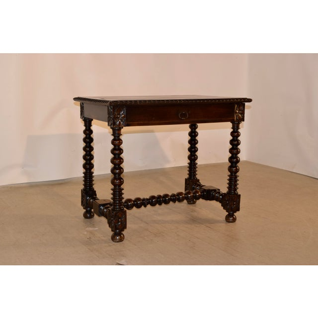 18th Century Walnut Side Table For Sale - Image 10 of 10