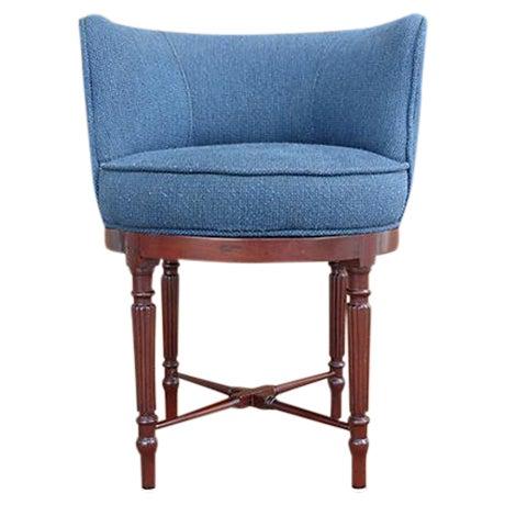 Neoclassical Swivel Vanity Chair - Image 1 of 8