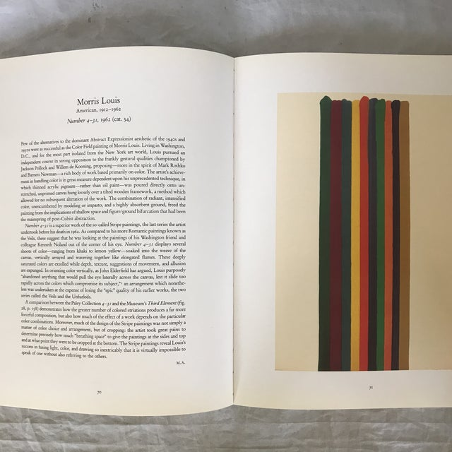 """1990s 1993 """"The William S. Paley Collection"""" First Edition Museum Art Book For Sale - Image 5 of 9"""