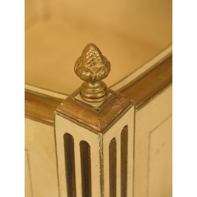 1970s Vintage Regency Style Planters - A Pair For Sale - Image 9 of 12