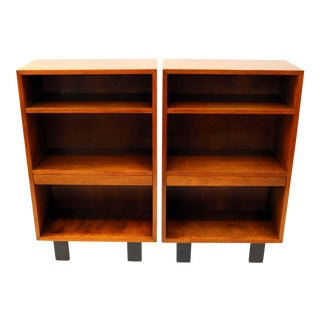 George Nelson for Herman Miller Mid-Century Nightstands - A Pair