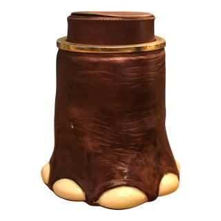 Longchamp Elephant Foot Ice Bucket For Sale