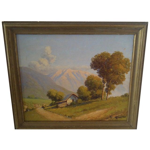 """""""The Farm Lane"""" by Roman Matthews For Sale"""