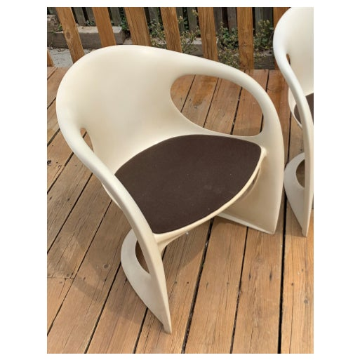 Ivory 1970s Alexander Begge Casala Chair For Sale - Image 8 of 8