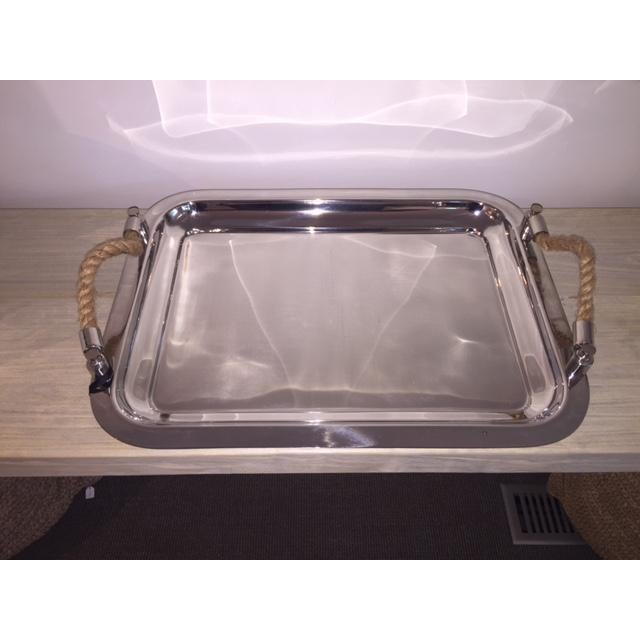 This serving tray from Captiva Limited, is handcrafted using high quality materials. This product can be used for any...