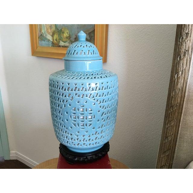 1950s Blanc De Chine Jar Lamp - Image 5 of 10