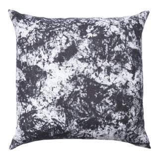 Hand Dyed Acid Wash Pattern Pillow For Sale