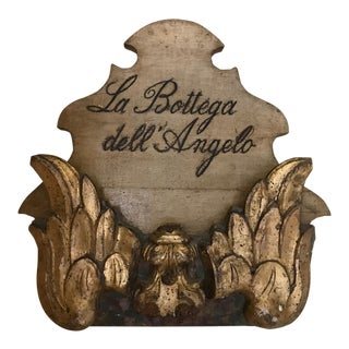 Vintage Italian Wall Hanging For Sale