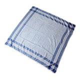 Image of Vintage Plaid Tablecloth For Sale