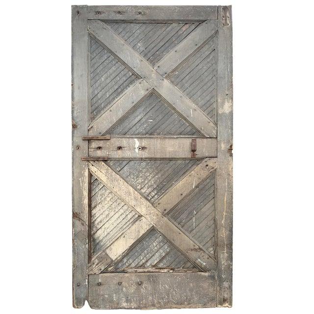 19th Century Vintage American Barn Door For Sale - Image 13 of 13