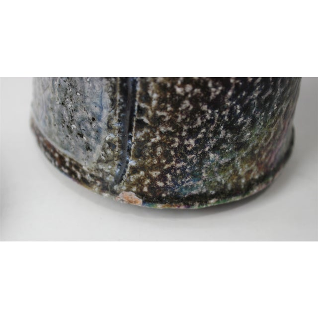 Mid-Century Modern Artisan Pottery Glazed Objects For Sale - Image 11 of 13