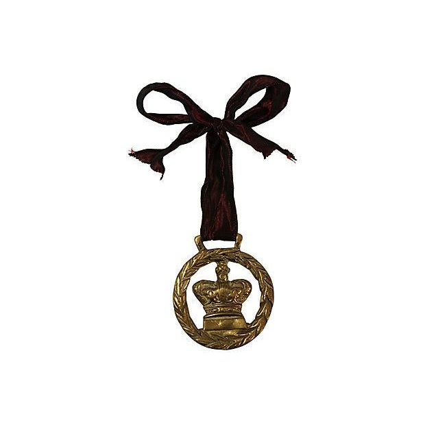 Antique Scotland Horse Brass Ornament - Image 2 of 2