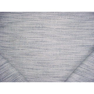 Traditional Cowtan & Tout Cheyenne Denim Sky Lasso Weave Upholstery Fabric - 12-3/8y For Sale