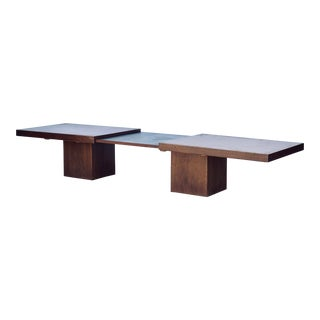 Modernist Walnut Coffee Table by John Keal for Brown Saltman For Sale