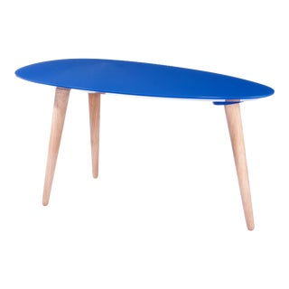 Small Blue Egg Table