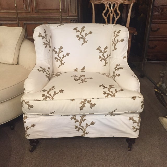 Barclay Butera Taylor Wing Chair - Image 11 of 11