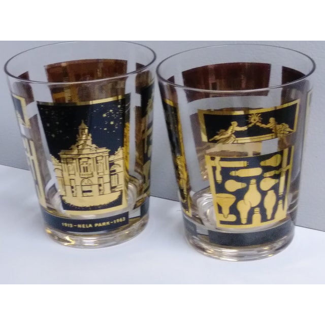 Industrial General Electric 1913-1963 Nela Park Rock Glasses - a Pair For Sale - Image 3 of 10