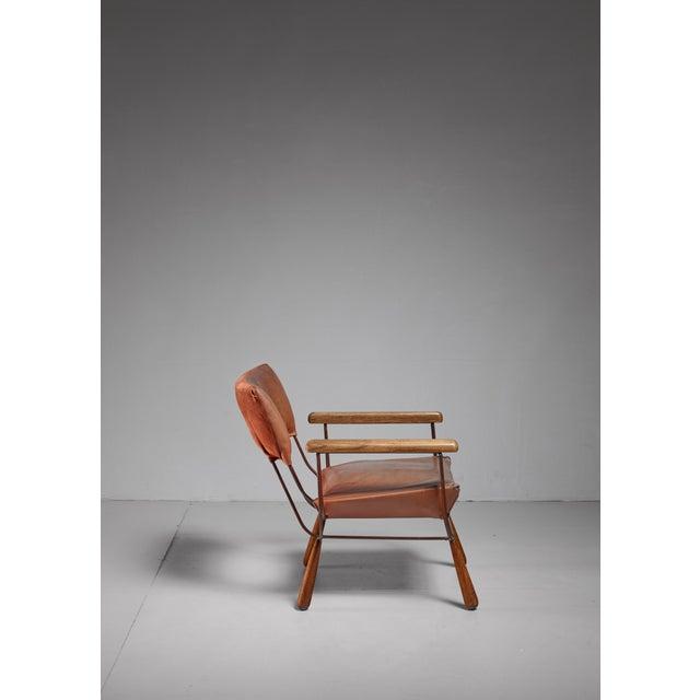 Allen Ditson unique lounge chair, USA, 1960s For Sale - Image 6 of 6