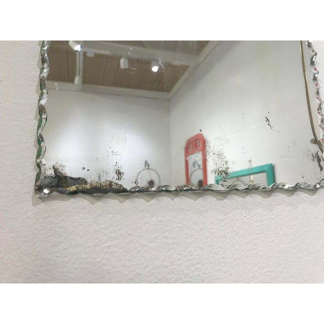 Early 20th Century Etched Mirror For Sale - Image 4 of 6