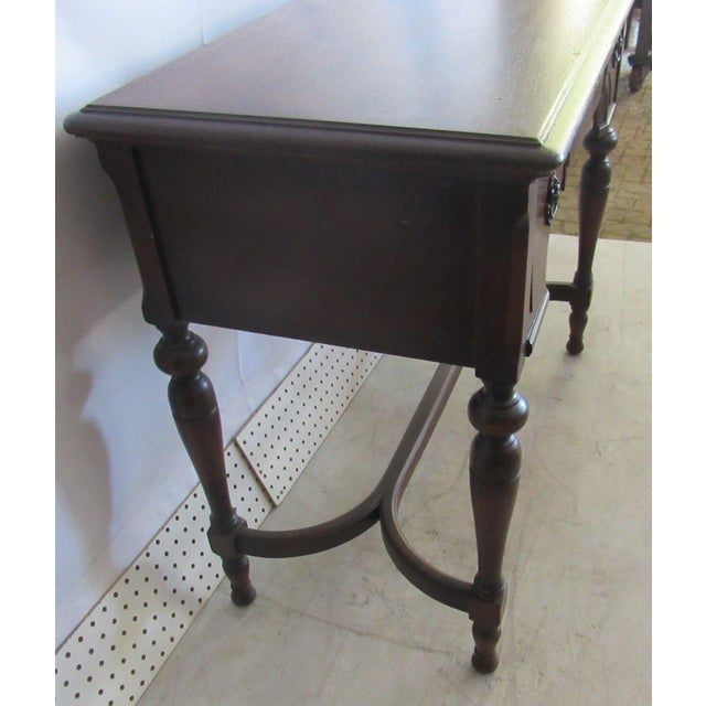 Sewing Machine Desk With White Mfg Co. Sewing Machine For Sale - Image 5 of 7