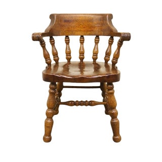Thomasville Furniture Pine Manor Collection Desk / Accent Chair For Sale