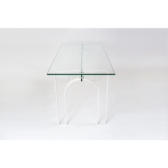 Not Yet Made - Made To Order Durodeco Arch Desk For Sale - Image 5 of 6