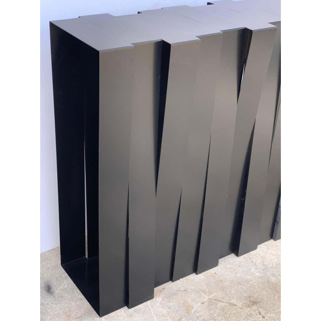Stephane Ducatteau Modern 'Structure 12' Console by Stephane Ducatteau, France, 2008 For Sale - Image 4 of 9