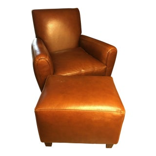 Final Price Drop! Mid-Century Modern Leather Chair For Sale