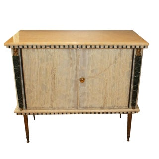 French Onyx Commode C. 1950 For Sale