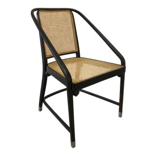 Josef Hoffmann Caned Side Chair For Sale