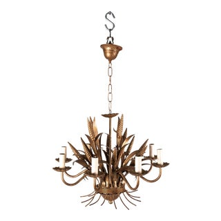20th Century Wheat Sheaf Chandelier For Sale