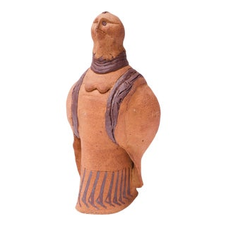 """Studio Stoneware """"Pigeon"""" Sculpture Attributed to Polk For Sale"""